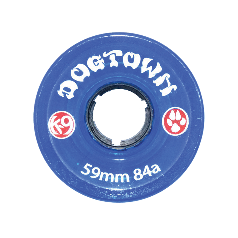 Dogtown K-9 Cruiser Wheels 84a Clear Blue - 59mm