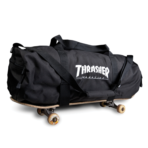 Thrasher Skate Duffel Bag - Black