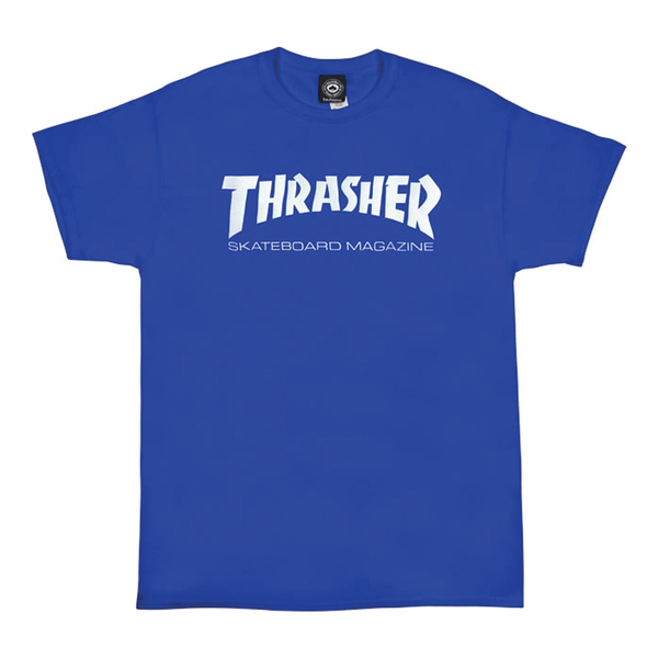 Thrasher Skate Mag Tee - Royal