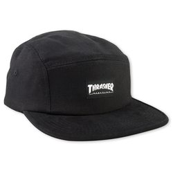 Thrasher 5-Panel Cap - Black