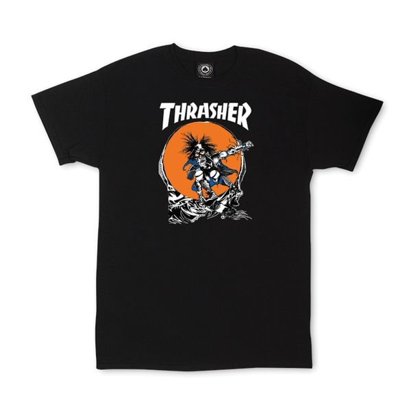 Thrasher Outlaw Tee - Black