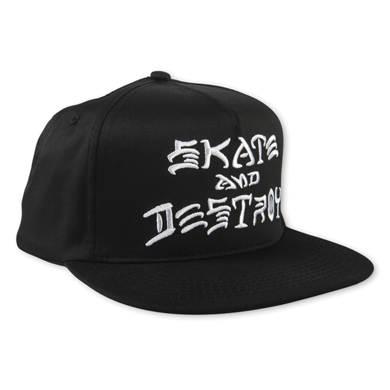 Thrasher SAD Snapback Hat - Black