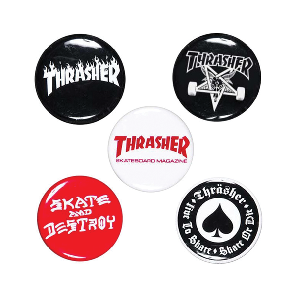 Thrasher Button Pack