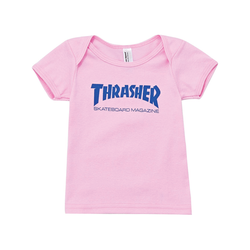 Thrasher Infant Tee - Pink