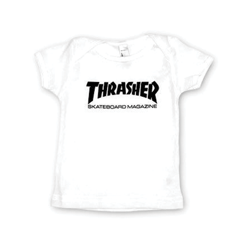 Thrasher Infant Tee - White
