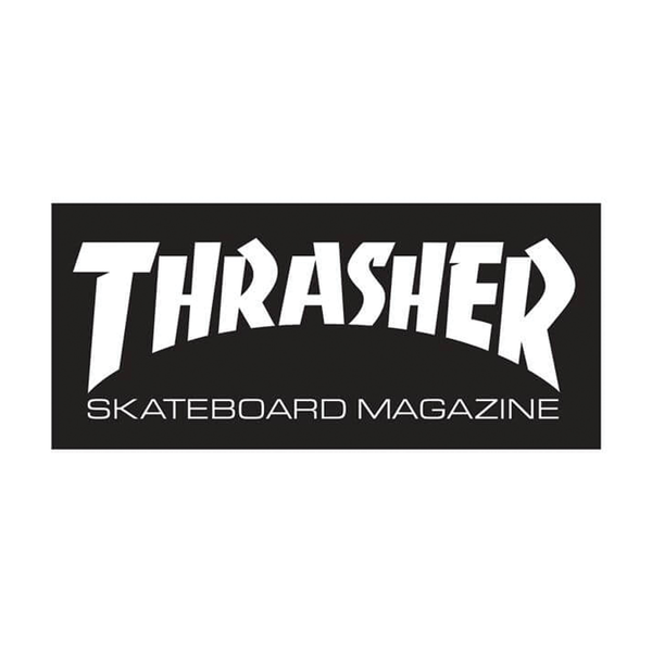 Thrasher Mag Logo Sticker Large