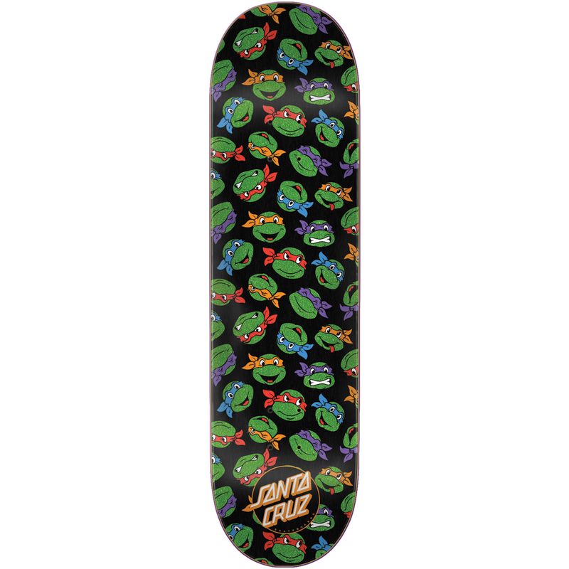 Santa Cruz TMNT Allover Turtle - 8.25""
