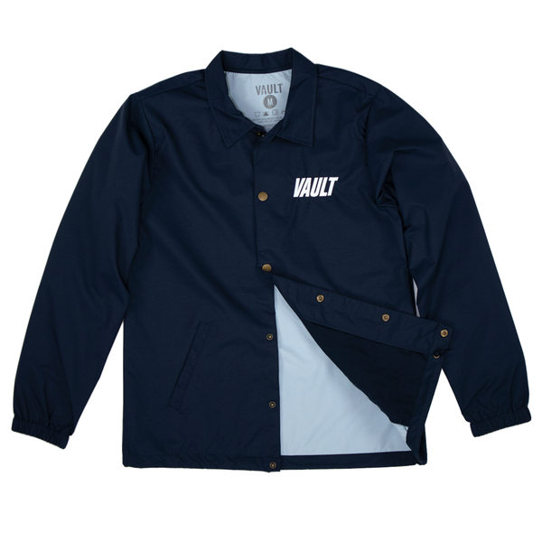 Vault Club Embroidered Jacket - Navy