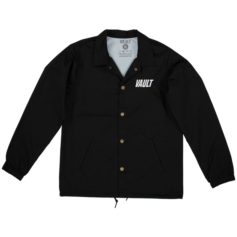 Vault Club Jacket Embroidered - Black