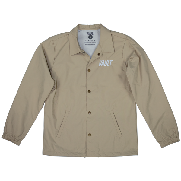 Vault Club Embroidered Jacket - Khaki