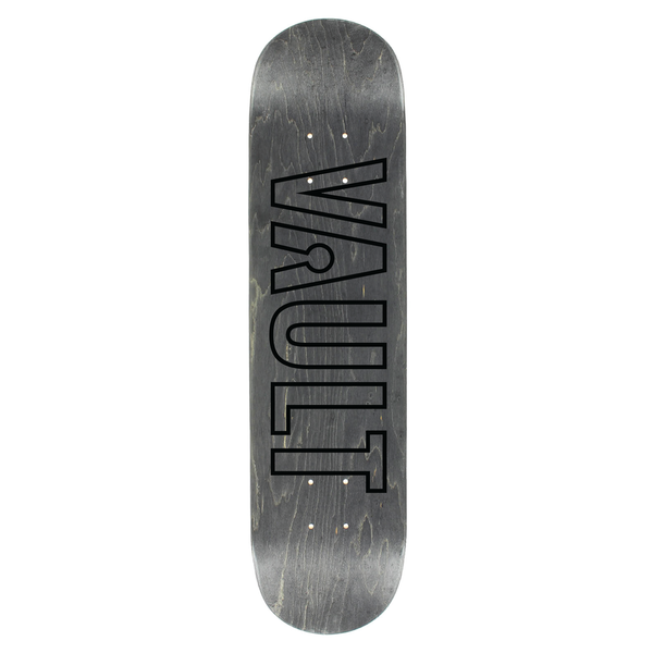 Vault Black Outline Deck - Various Colors