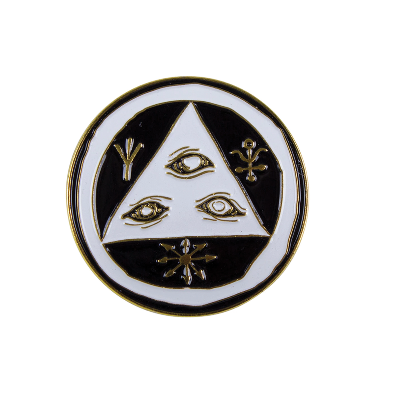 Welcome Logo Pin