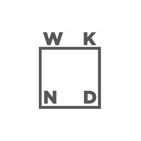 WKND Box Logo Sticker