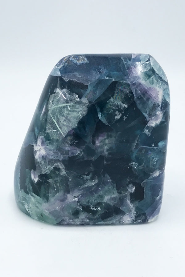 5118 Fluorite Freeform (Polished) - Zero Point Crystals