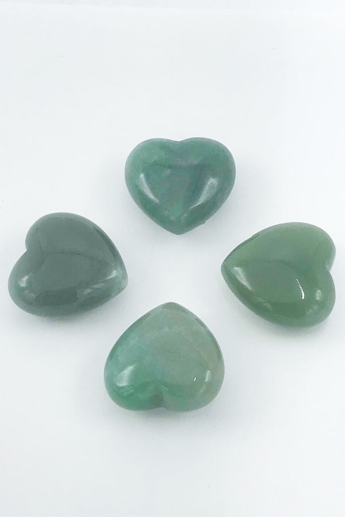 Aventurine Heart - Zero Point Crystals