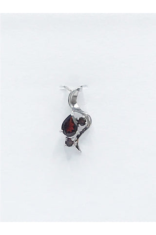 Idaho Garnet Multi Stone Pendant - Zero Point Crystals
