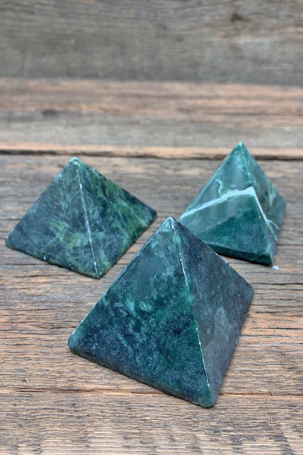 Jade Pyramid - Zero Point Crystals