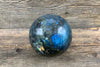 Labradorite Sphere - Zero Point Crystals