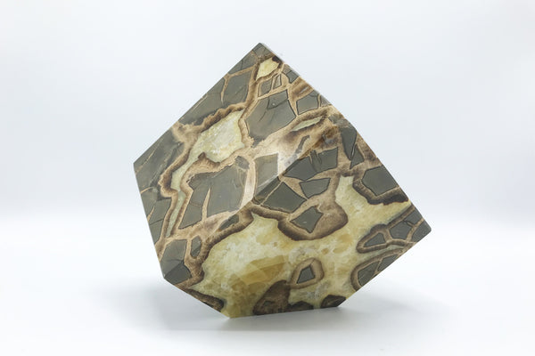 Septarian offset Cubes - Zero Point Crystals