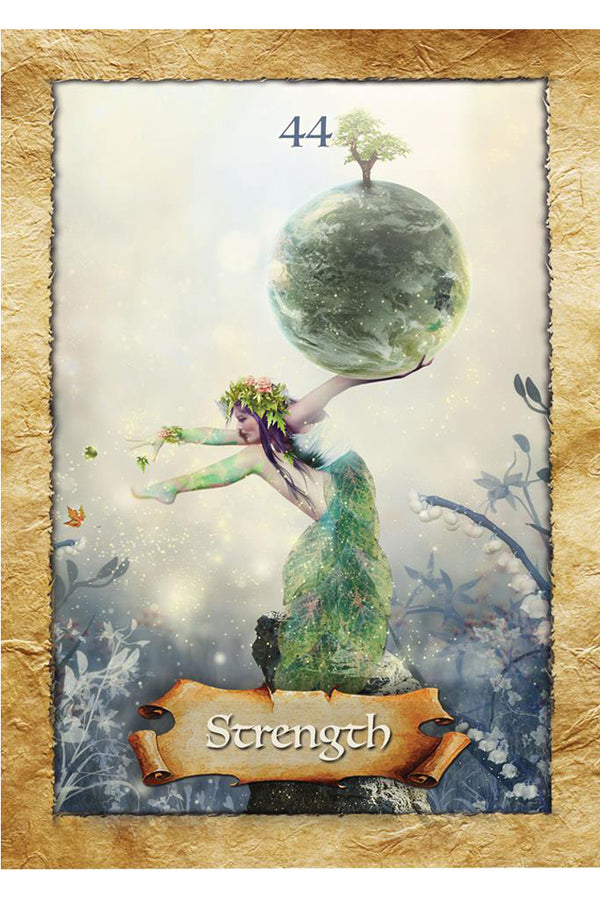 Enchanted Map Oracle Cards - Zero Point Crystals