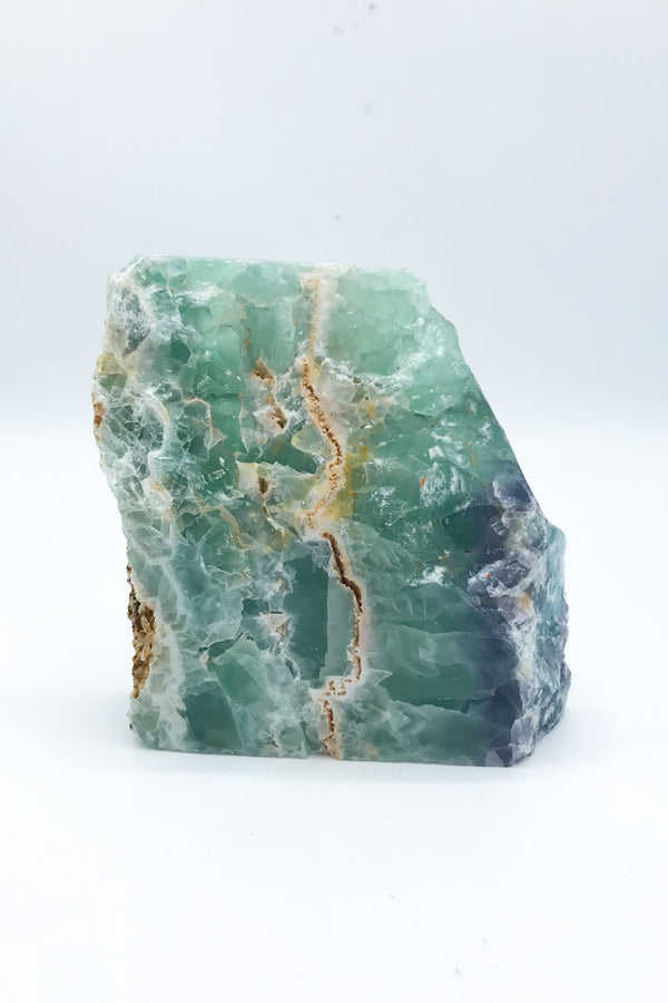 Fluorite Freeforms with Partial polish - Zero Point Crystals
