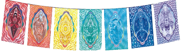 Chakra Rainbow Flags - Zero Point Crystals
