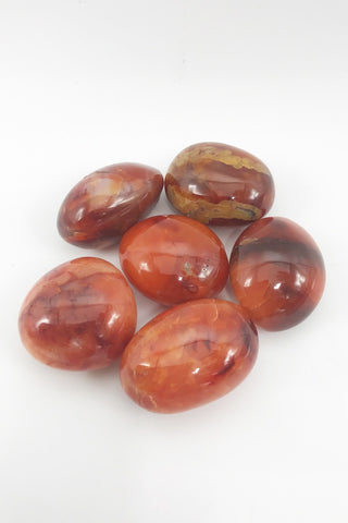 Carnelian Pebbles - Zero Point Crystals