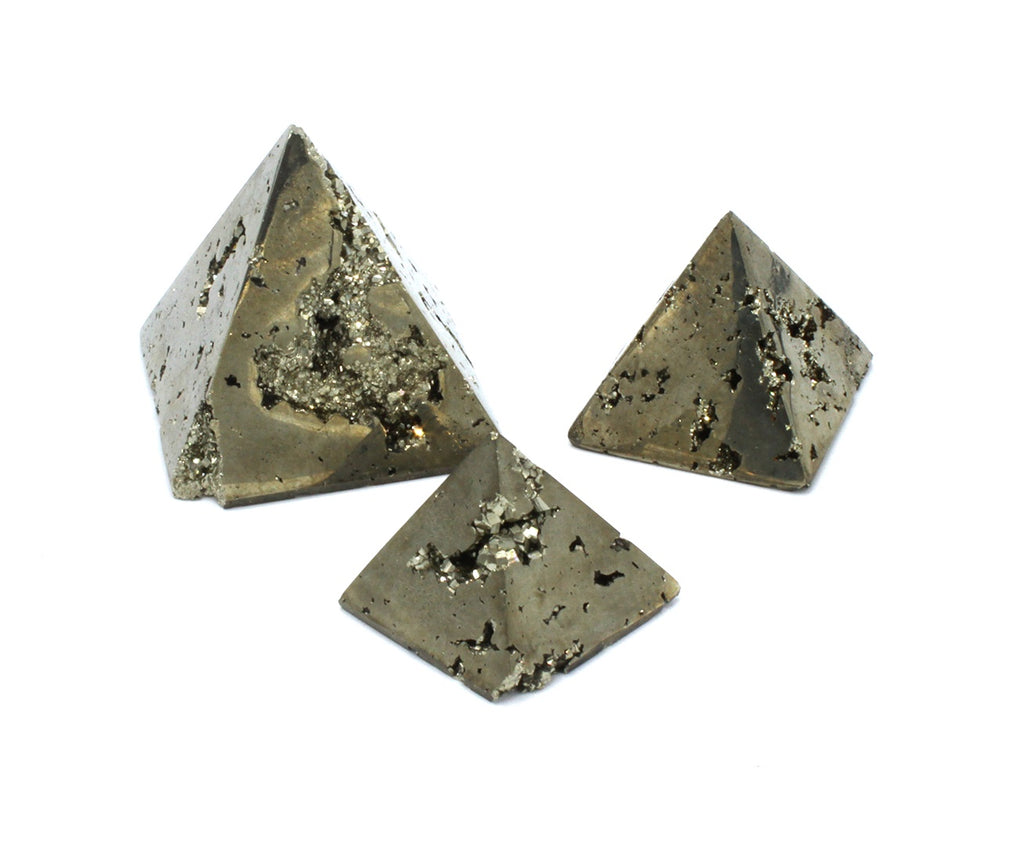 Pyrite Pyramid - Zero Point Crystals