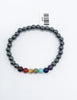Hematite Chakra Stretch Bracelet - Zero Point Crystals