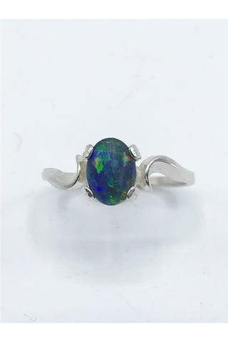 Idaho Opal Ring - Zero Point Crystals