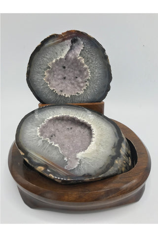 Agate Porta Joya - Zero Point Crystals