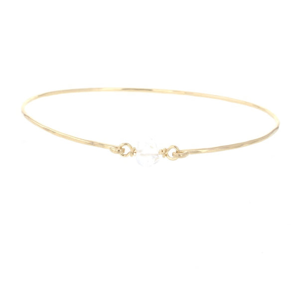Remy Bangle Bracelet - Zero Point Crystals