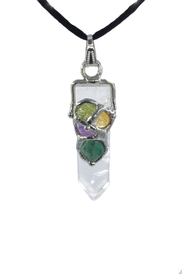 Gem Drop Pendant - Zero Point Crystals