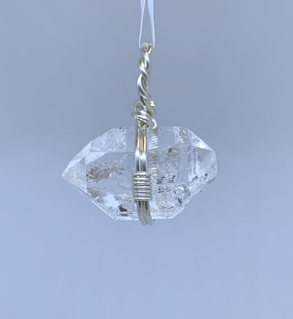 835 Herkimer Diamond Pendant - Zero Point Crystals