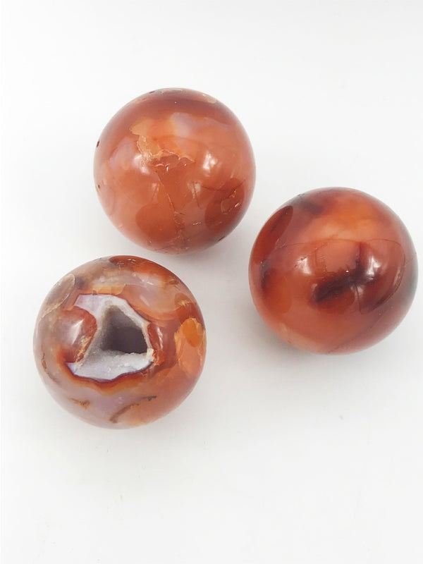 Carnelian Sphere - Zero Point Crystals