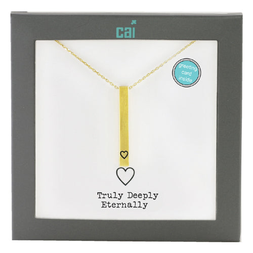 Secret Message Necklace Gold - Zero Point Crystals