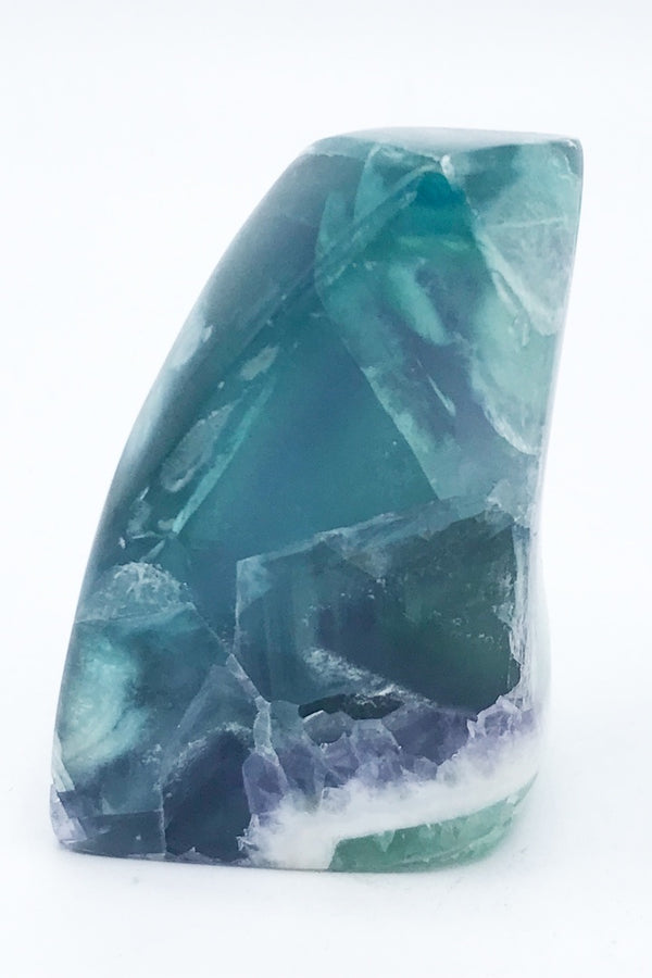13121 Fluorite Freeform (Polished) - Zero Point Crystals