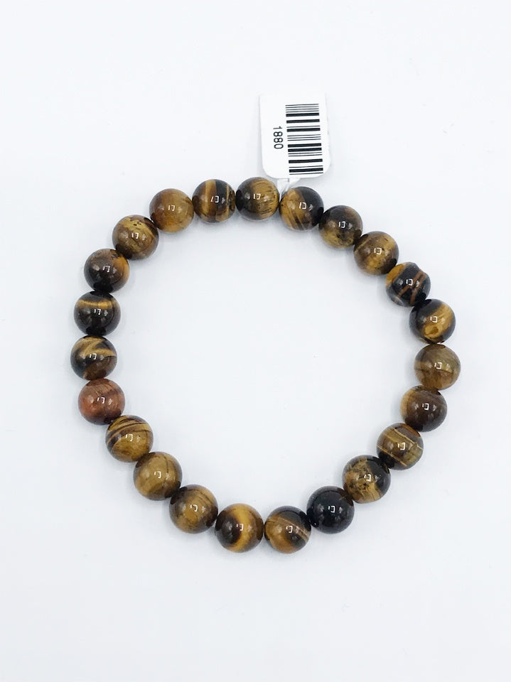 Tiger Eye Stretch Bracelet - Zero Point Crystals