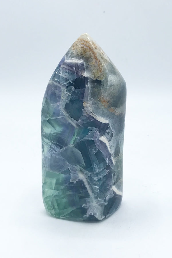 13120 Fluorite Freeform (Polished) - Zero Point Crystals