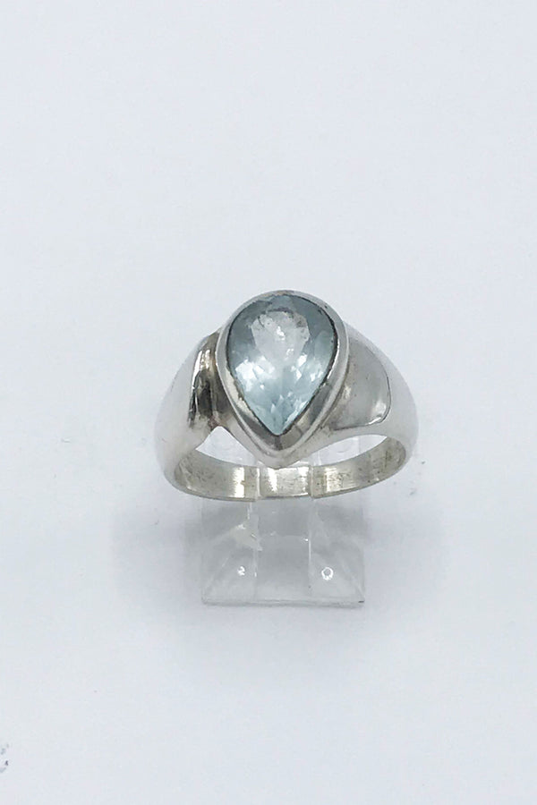 Aquamarine Ring - Zero Point Crystals