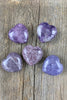 Lepidolite Hearts - Zero Point Crystals