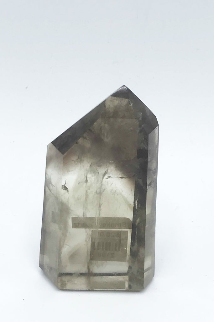 Smokey Quartz Point AAA - Zero Point Crystals