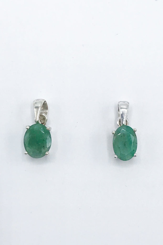 Emerald Pendant - Zero Point Crystals