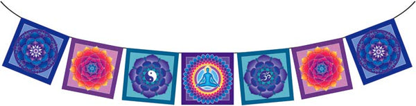 Meditation Mandala Flags - Zero Point Crystals