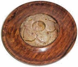 Incense Burner with Soap Stone - Zero Point Crystals