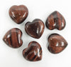 Tiger Eye Heart 30mm