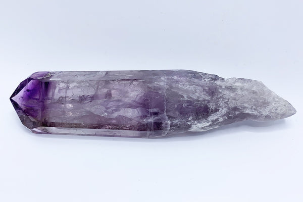 "Amethyst Elestial Tomahawk Point Polished 8.2"" - Zero Point Crystals"