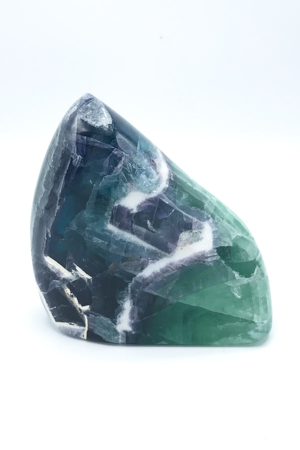 5694 Fluorite Freeform (Polished) - Zero Point Crystals