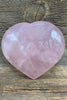 "Rose Quartz Hearts 3+"" - Zero Point Crystals"