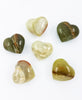 Green Calcite Heart - Zero Point Crystals